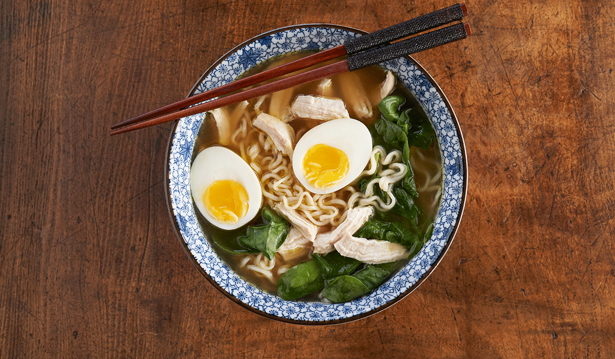 Chicken Spinach Ramen