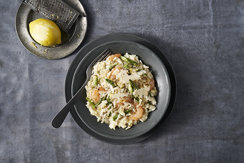 Spring Shrimp Risotto