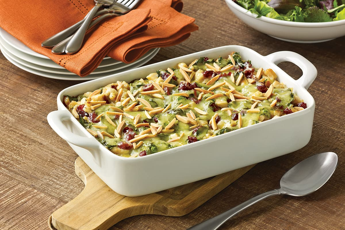 Eight-Layer Turkey Rice Casserole