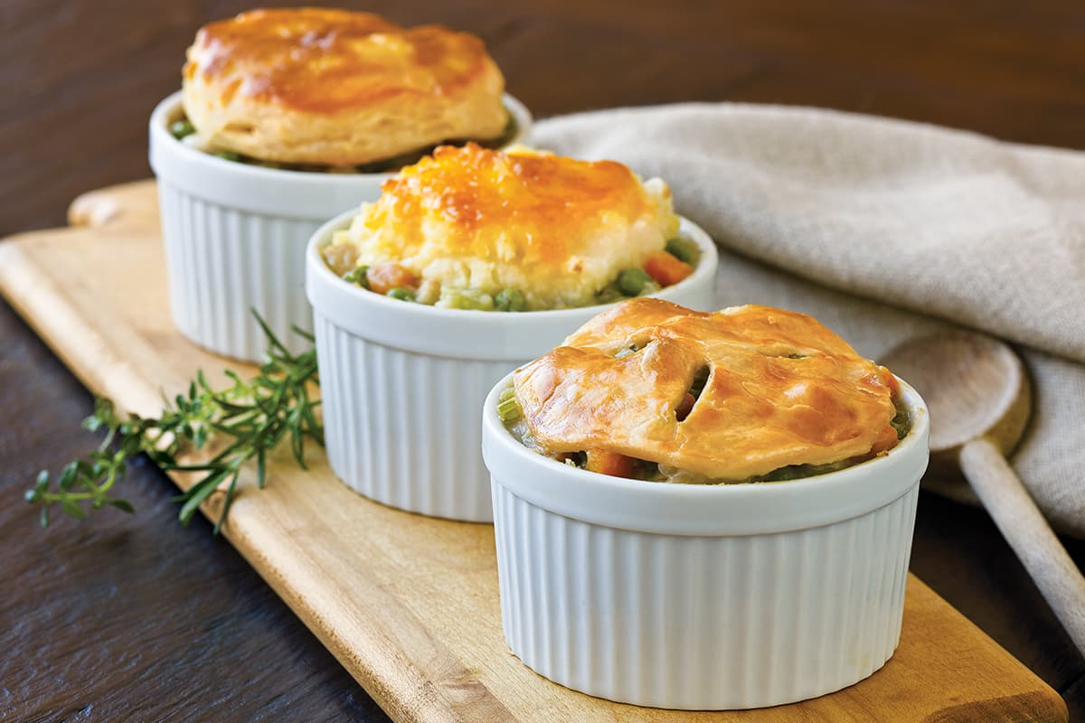 Individual Turkey Pot Pies