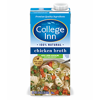 Fat Free & Lower Sodium Chicken Broth