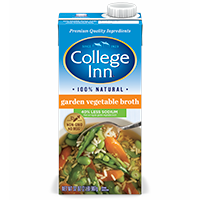 Reduced Sodium Garden Vegetable Broth