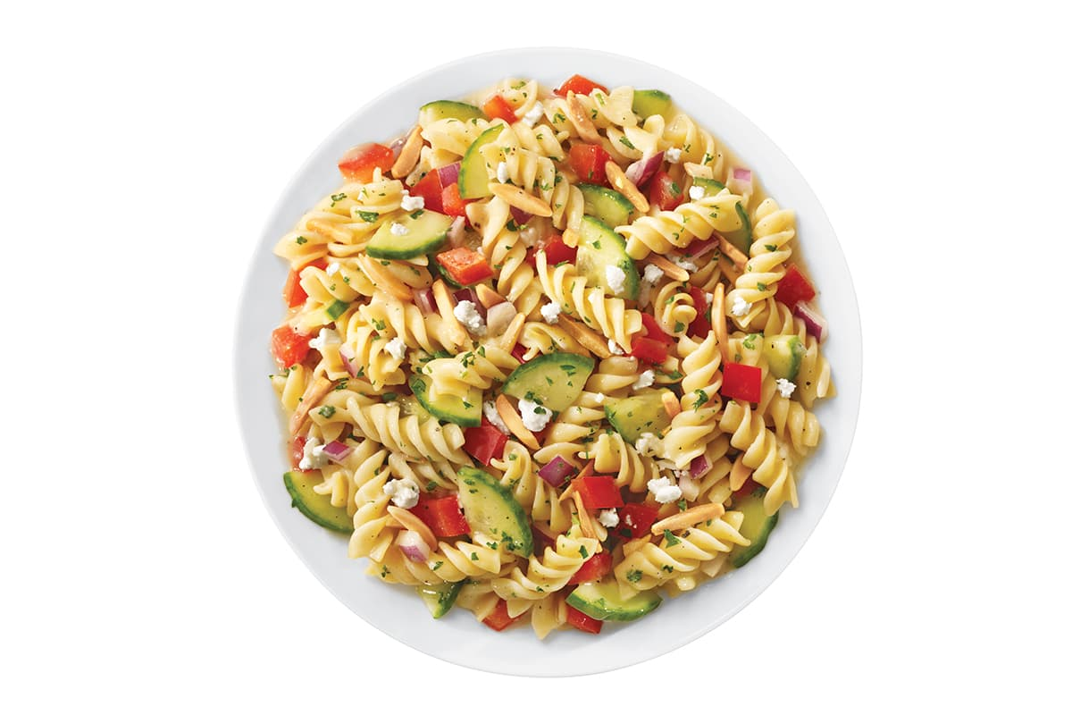 Sweet Red Pepper Rotini Salad