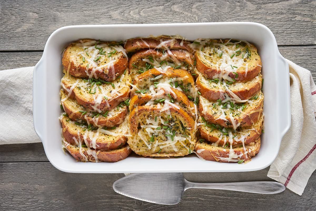 Savory French Toast Bake