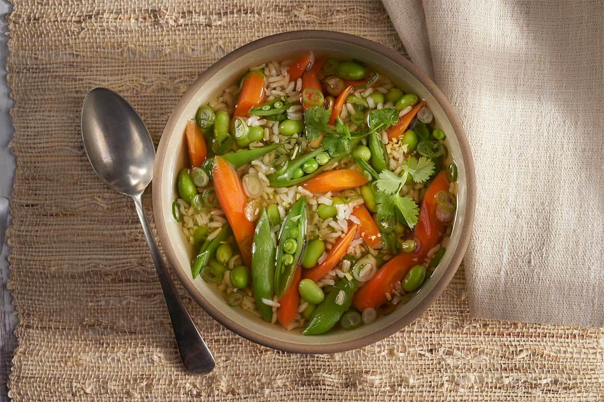 Vegetable Stir Fry Soup